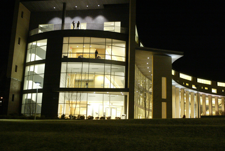 Olin, AC at Night