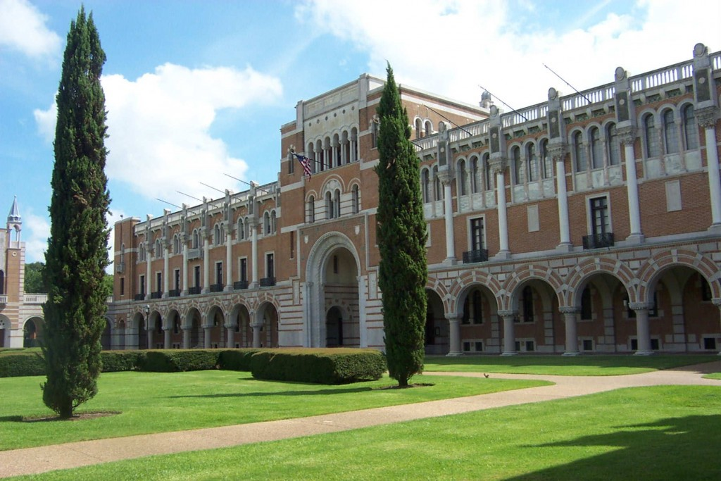 Rice University small colleges in Texas