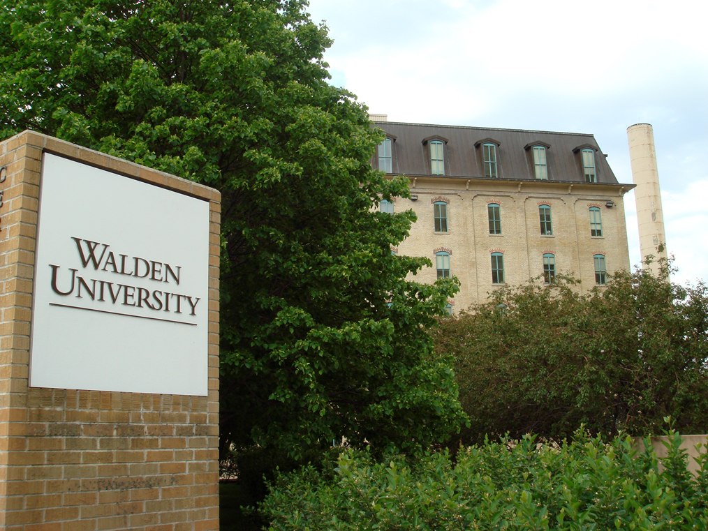 Walden University online MBA and online master's in marketing degrees