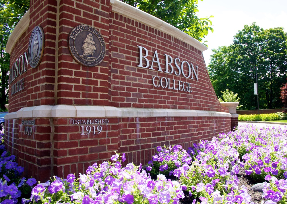 Babson College small colleges in Massachusetts