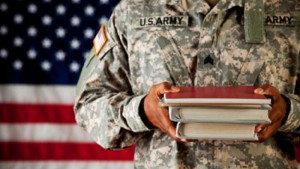Image of soldier for our ranking of top Scholarships for Veterans