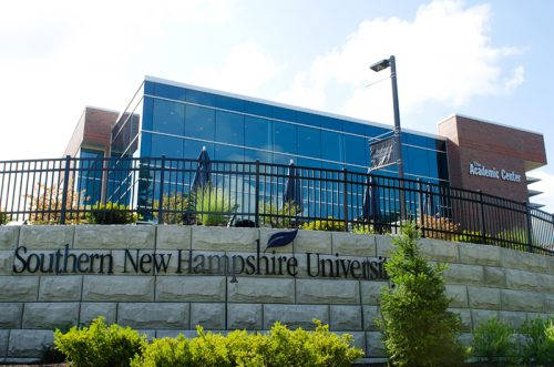 Southern New Hampshire University online master's degree in English literature