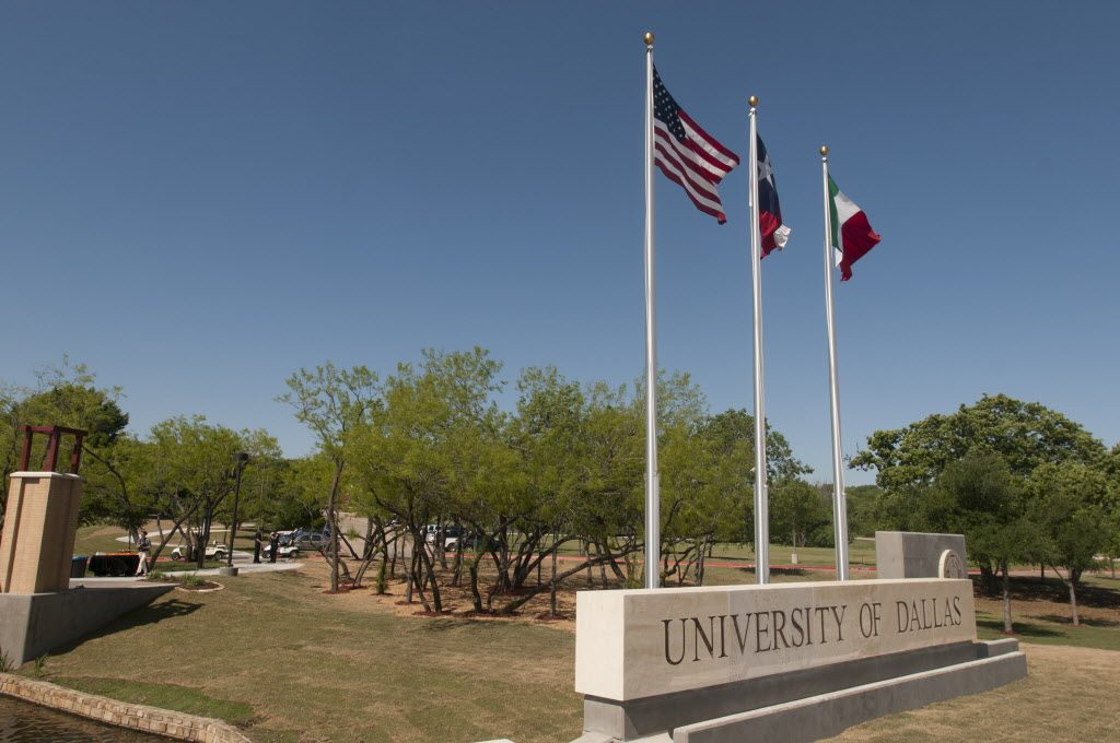 University of Dallas small colleges in Texas
