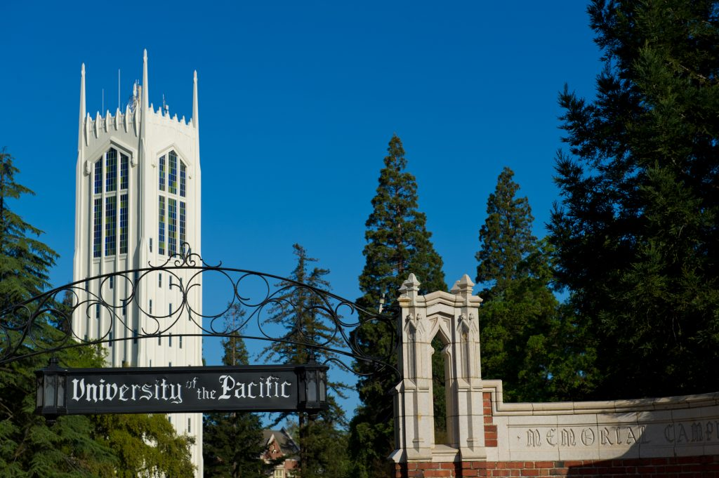 University of the Pacific small colleges in California