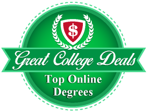 Badge for our ranking of best doctorate programs in organizational leadership