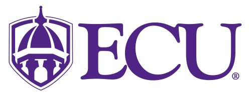 Logo of ECU for our ranking of best online master of library science degrees
