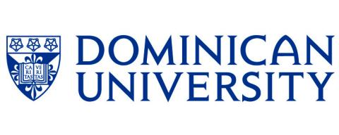 Logo of Dominican University for our ranking of best online master of library science degrees