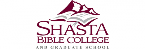 Logo of Shasta Bible College and Graduate School for our ranking of online bachelor's in theology