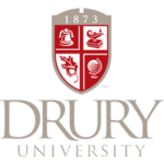 Logo of Drury University for our ranking of top online criminal justice degrees
