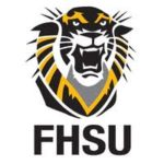 Logo of FHSU for our ranking of top online criminal justice degrees