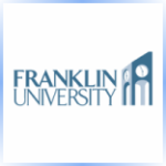 Logo of Franklin University for our ranking of top online criminal justice degrees