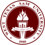 Logo of West Texas A&M for our ranking of top online criminal justice degrees