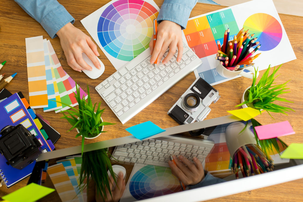 Image of graphic designer for our ranking of top Graphic Design Scholarships