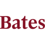 Logo of Bates College for our ranking of colleges that don't require SATs