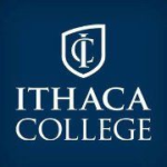 Logo of Ithaca College for our ranking of colleges that don't require SATs