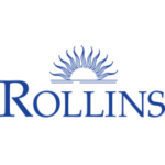 Logo of Rollins College for our ranking of colleges that don't require SATs