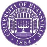 Logo of University of Evansville for our ranking of colleges that don't require SATs