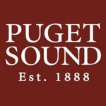 Logo of University of Puget Sound for our ranking of colleges that don't require SATs