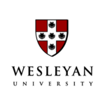 Logo of Wesleyan University for our ranking of colleges that don't require SATs