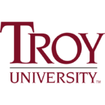 Logo of Troy University for our ranking of best online Human Resources degree programs