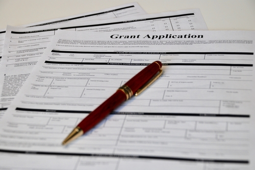 An image of a grant application for our review of top grants